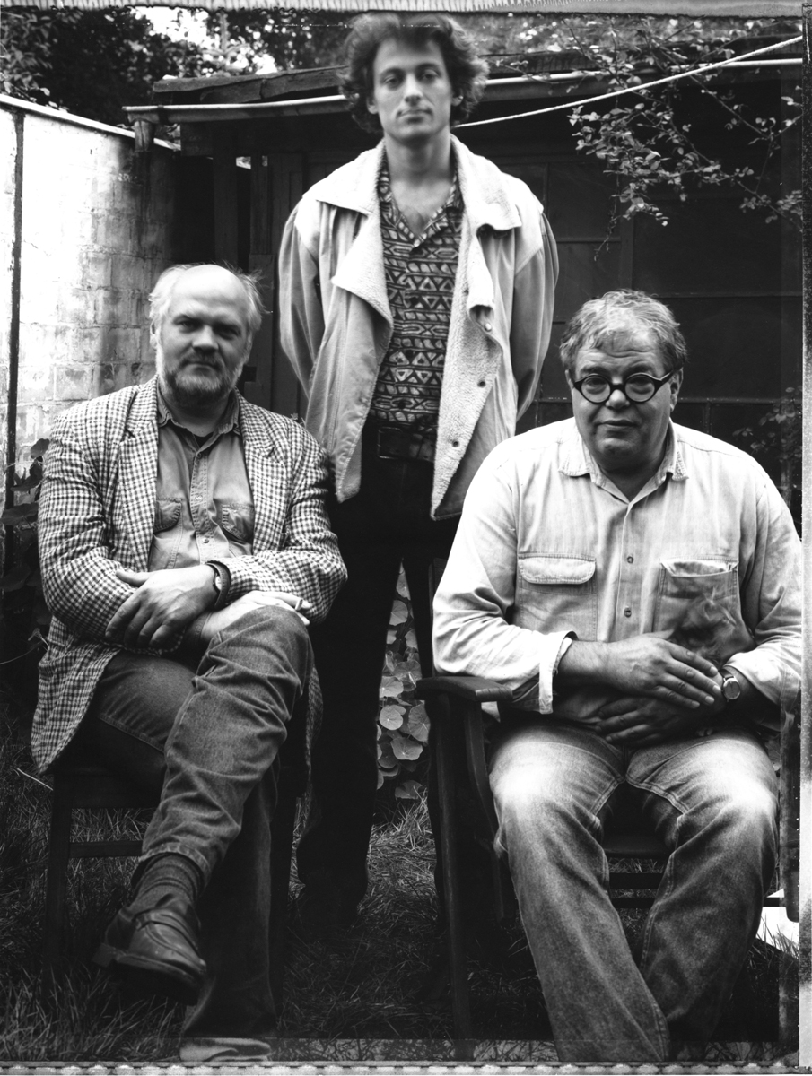 Andreas, Sebastian, Stefan, Katze
