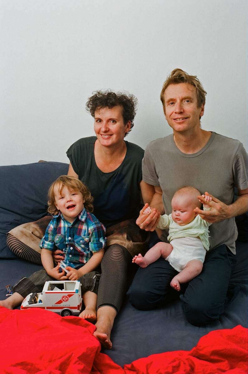 Joel, Astrid, Oliver und Lotte